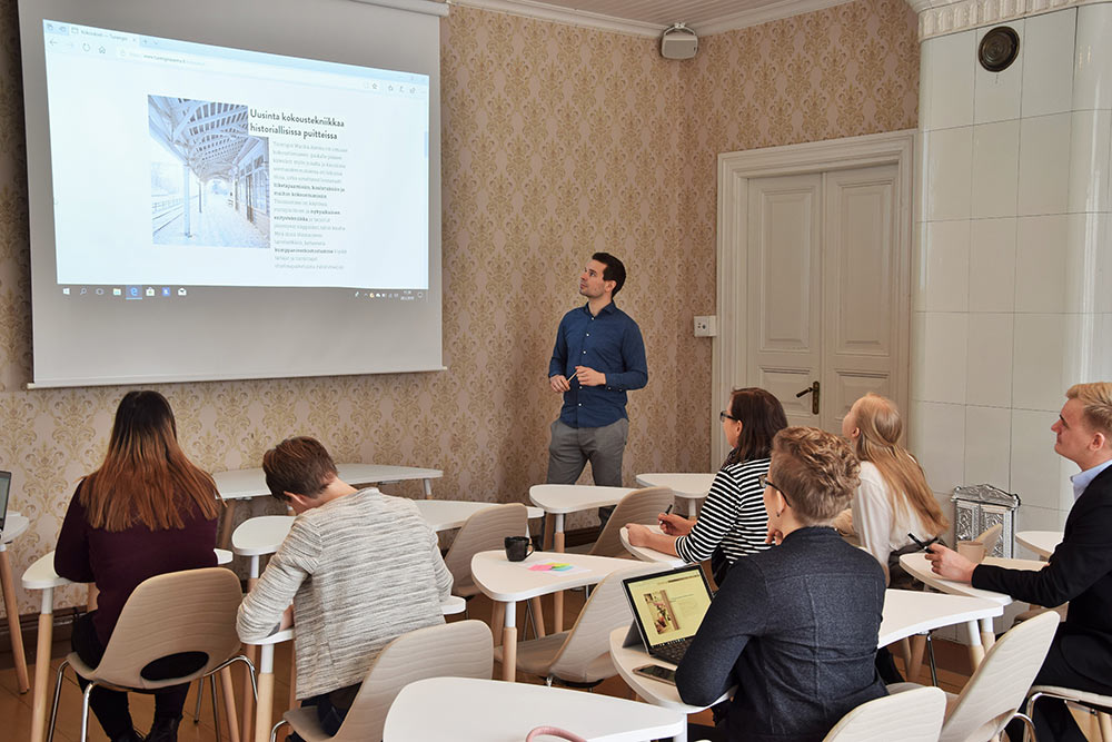 Events - Hosting a seminar or a training? Our largest spaces are versatile and fit up to 35 people.