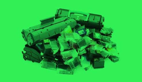 Mitmachen! - Mit dem Sammeln leerer Drucker-patronen beginnen