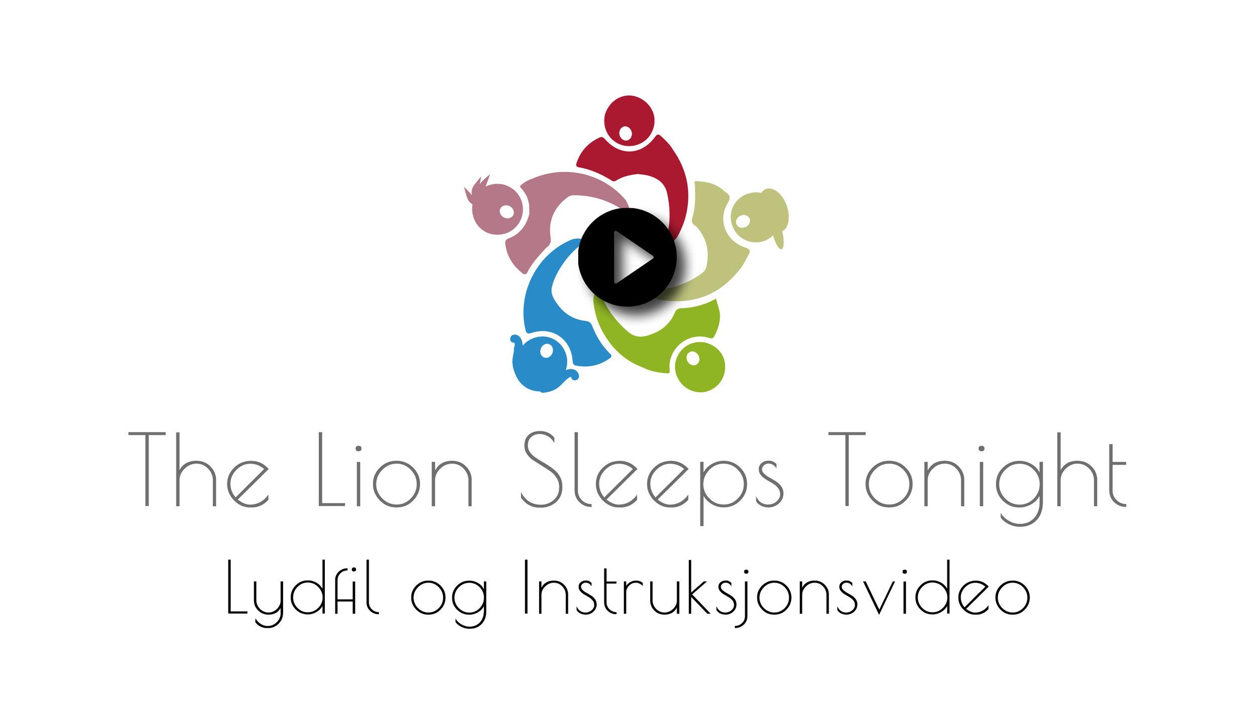 """Lytt til """"Lion Sleeps Tonight"""" i  Sangbanken  (krever innlogging)"""