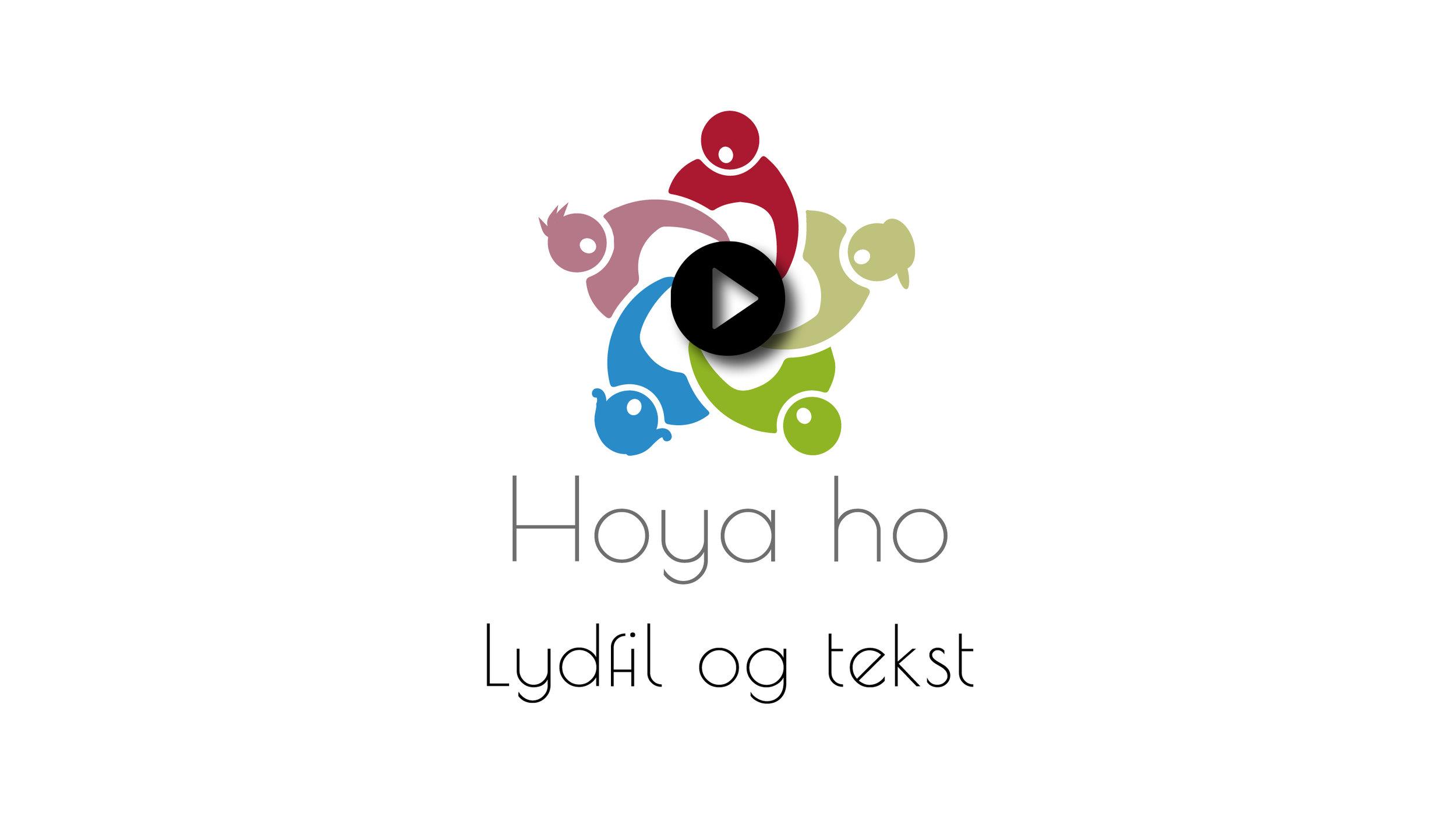 """Lytt til """"Hoya ho"""" i  Sangbanken  (krever innlogging)"""