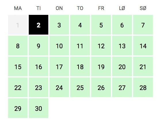Booking+kalender