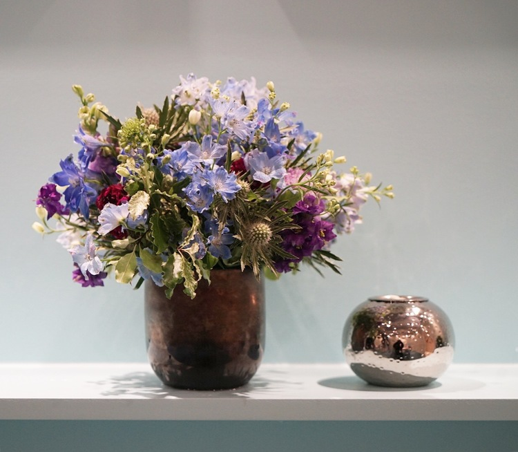 Floral Displays at Jewelry Rooms