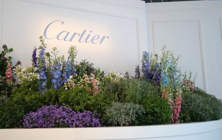 Entrance Cartier Spring Garden