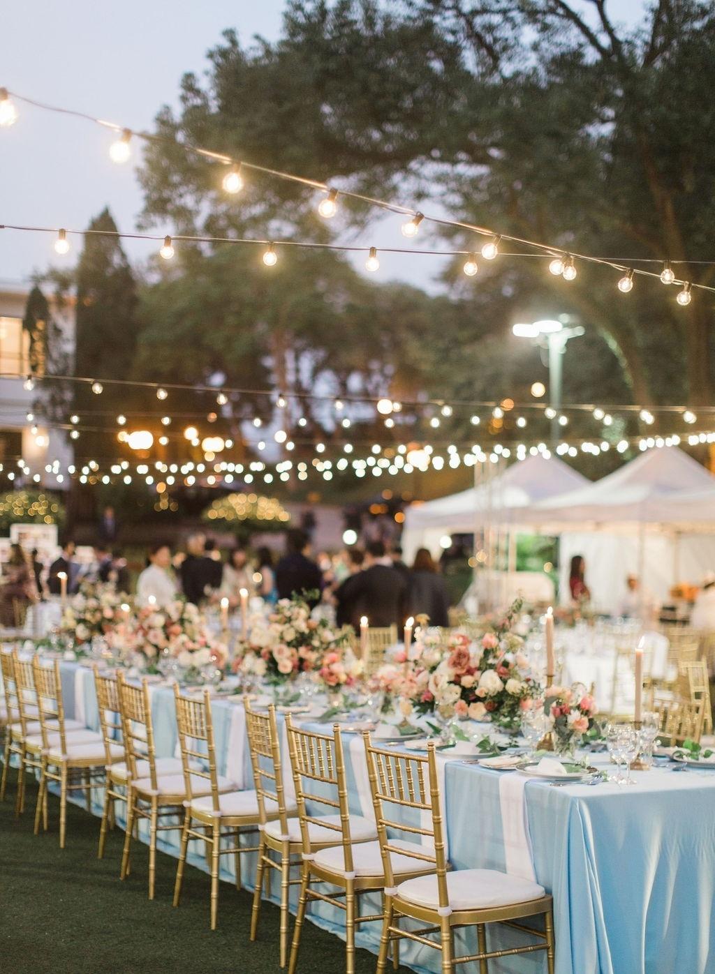 Peach Alfresco WeddingBeas River Country Club, HK - Mandy & Adrian