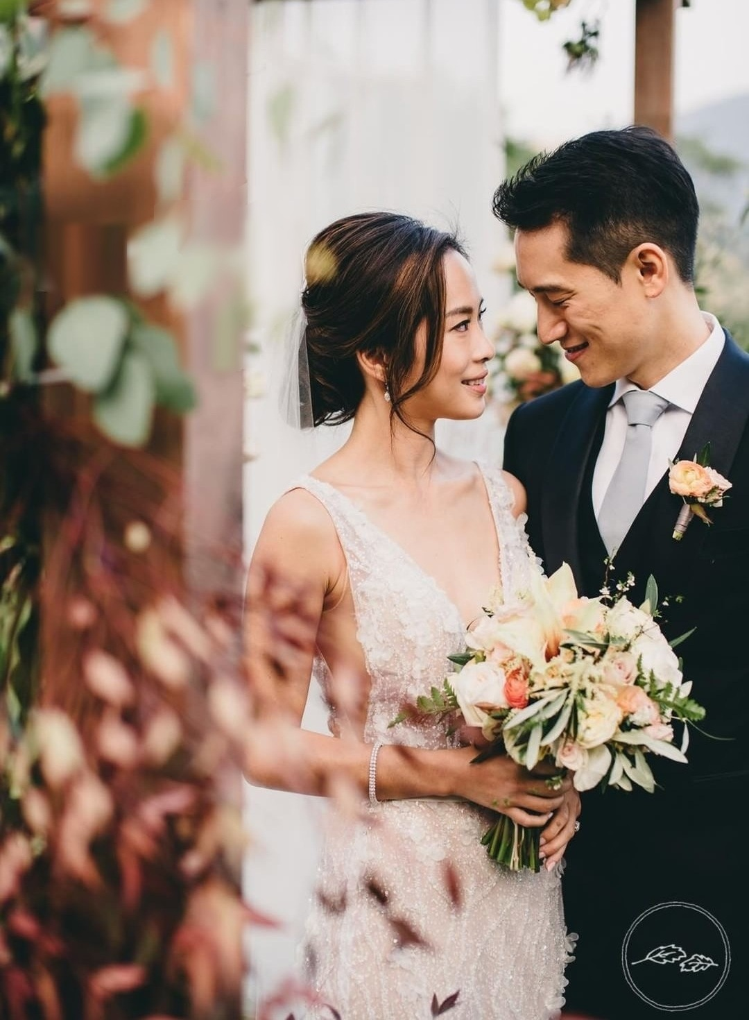 Fall-Inspired Wedding Hong Kong Country Club - Jessica & Jason