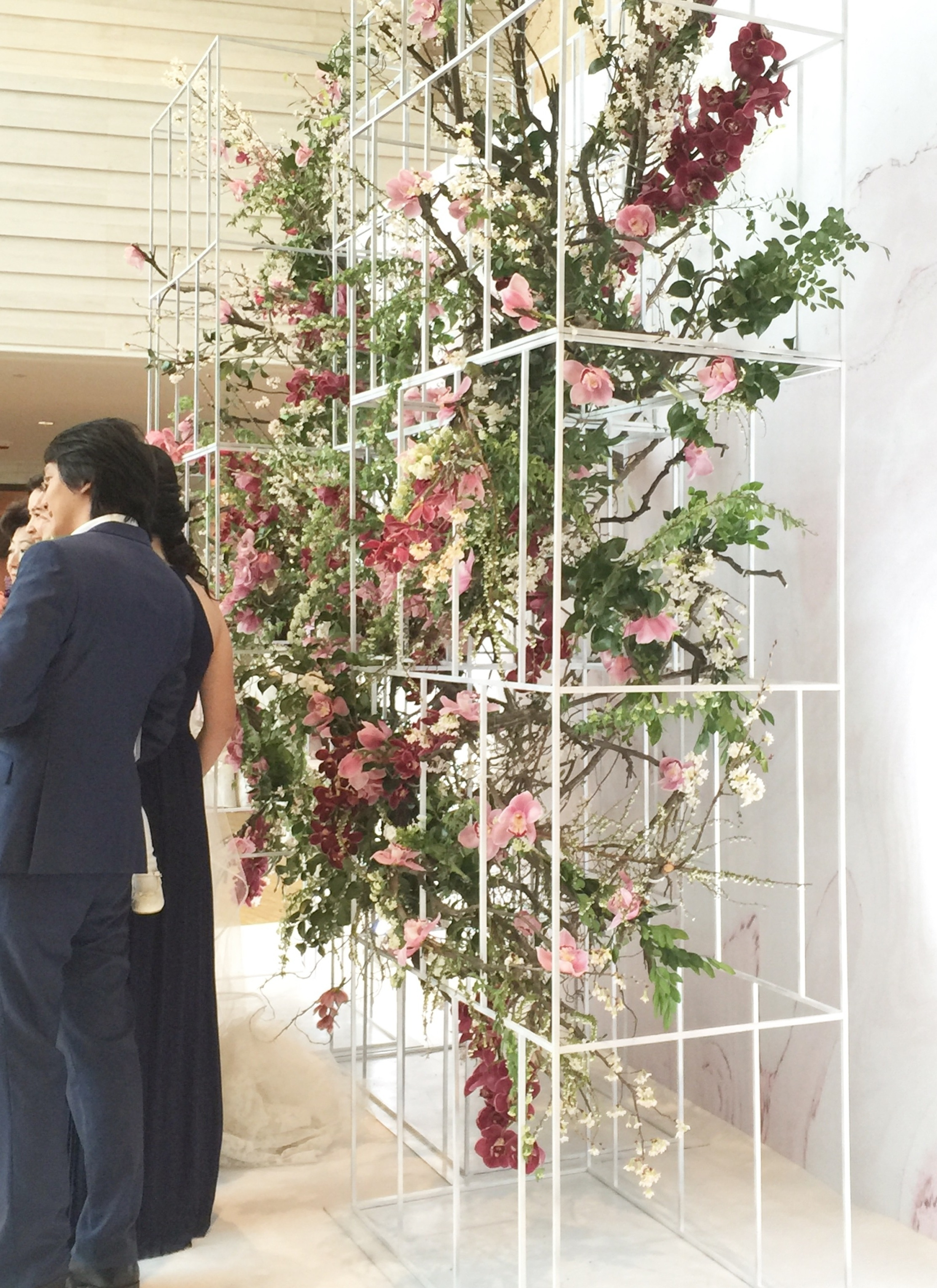Floral Art WeddingFour Seasons Hong Kong - Venus & Alexander