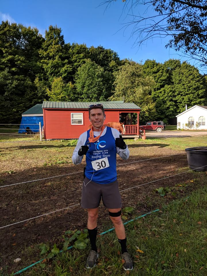 Participant in the Peace Ranch 5k/10k Ranch Run