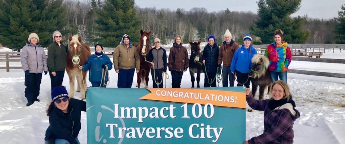 Impact 100 Traverse City winner, Peace Ranch