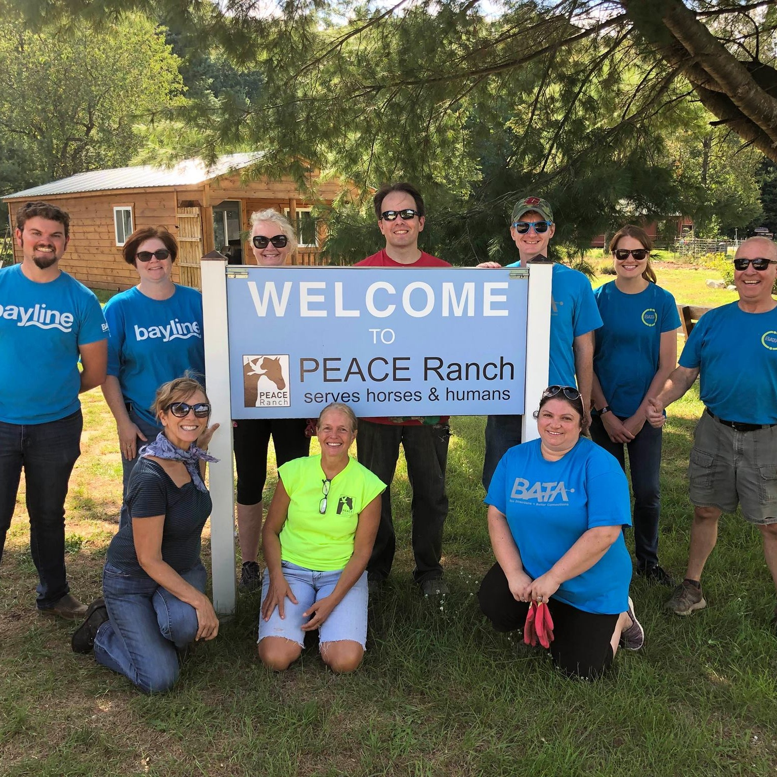 Professional workshop/retreat at Peace Ranch in Traverse City, Michigan