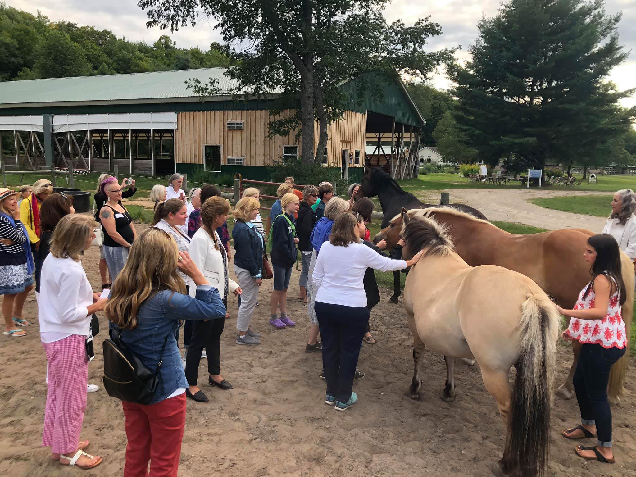 Impact 100 TC Visits Therapeutic Peace Ranch