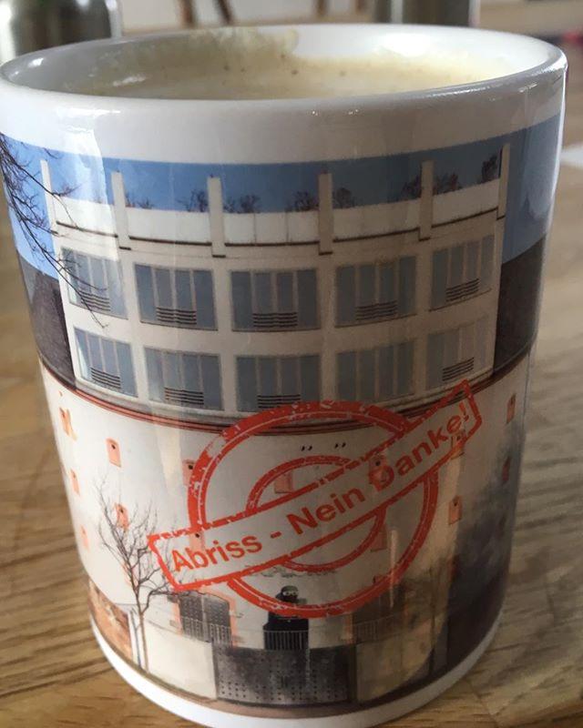 Kaffeegenuss statt Bunkerabriss 😉