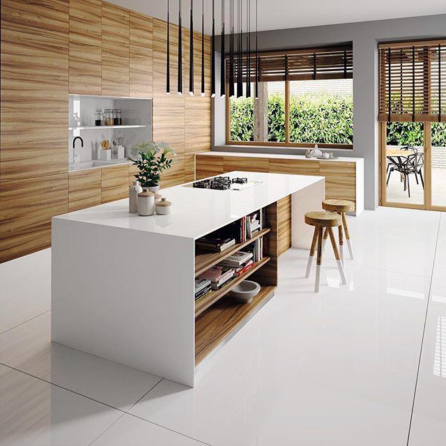 Silestone Iconic White to create a Scandi-inspired feel.