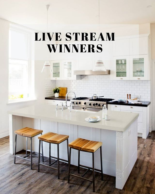 We are excited to be announcing the 3 lucky winners of the QN Designs & Cosentino giveaway. Tune in tomorrow at 11am (WST) Perth time to watch the draw live on Facebook! Best of luck to everyone that participated 🤞