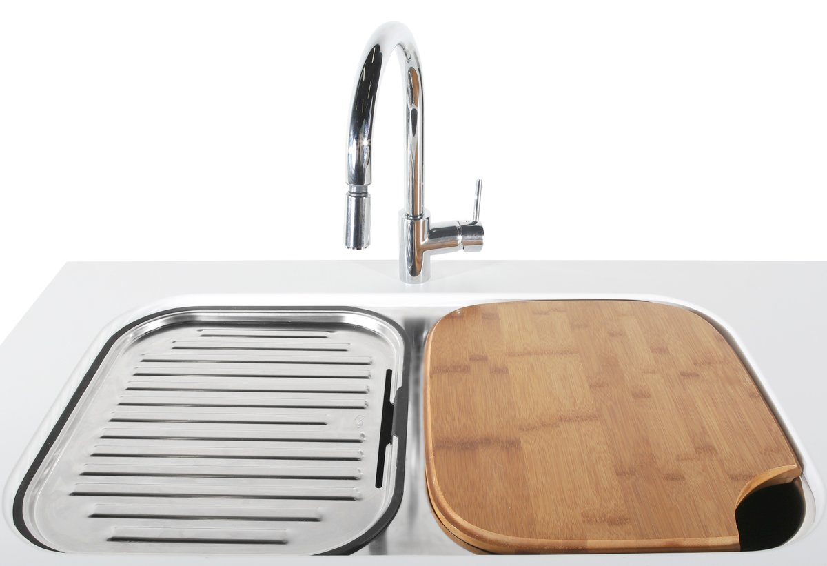 Abey NuQueen Double Bowl Undermount Sink Pack