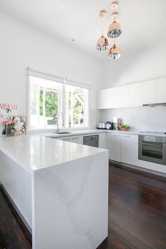 Kitchen Layouts Pros And Cons U Shaped Renovation Showroom Qn Designs