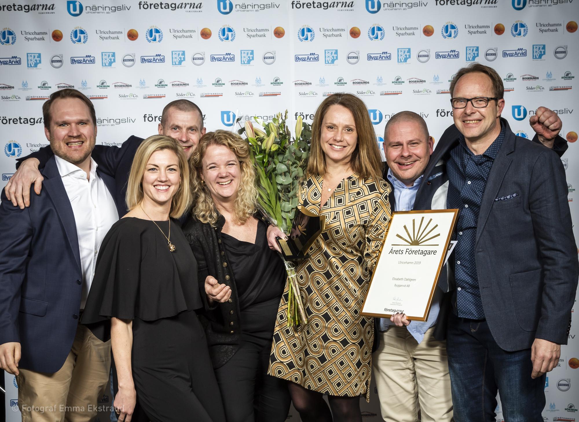 årets företagare 2019 - Elisabeth Dahlgren, Byggarvid