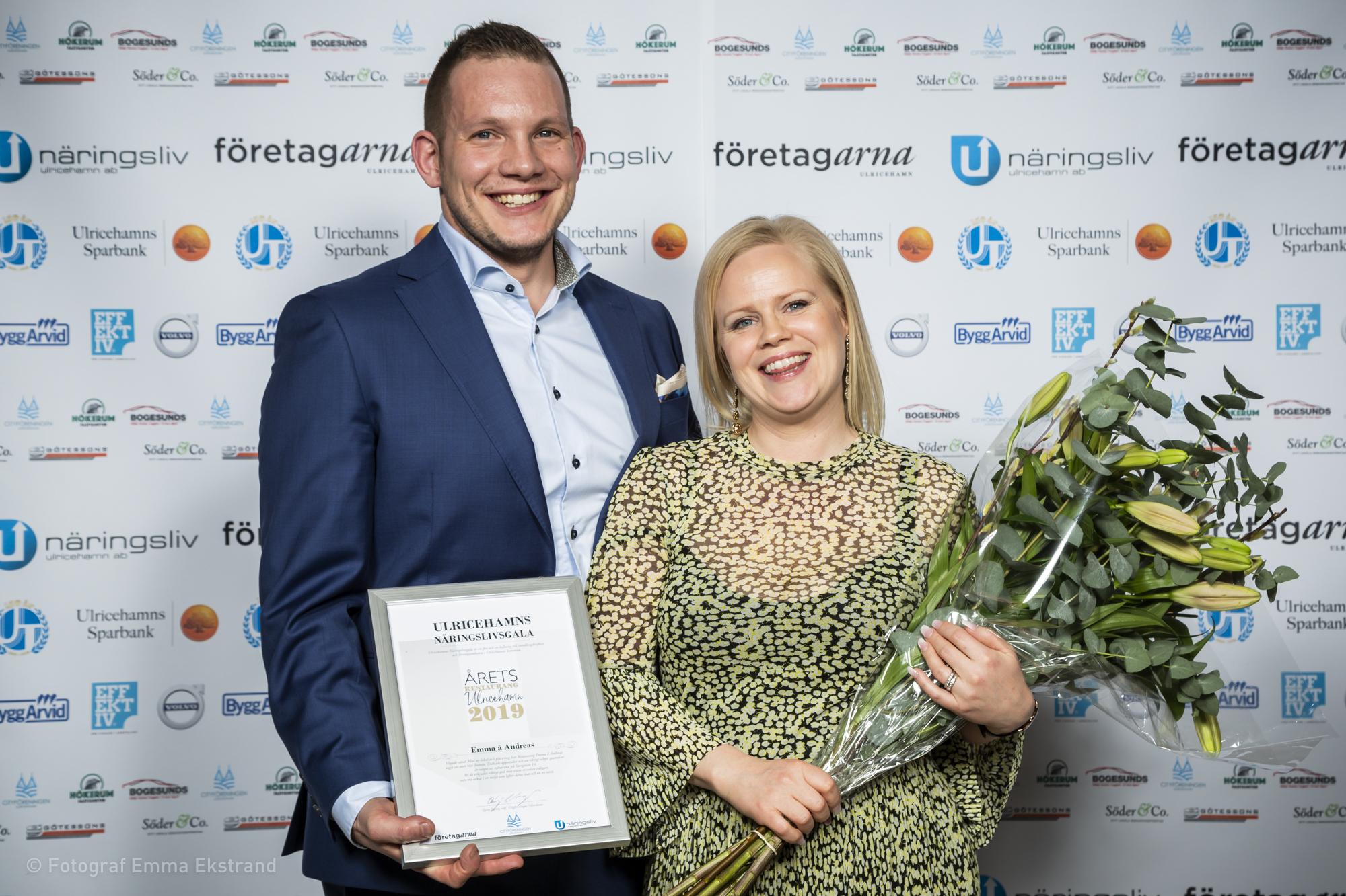Årets Restaurang 2019 - Emma å Andreas