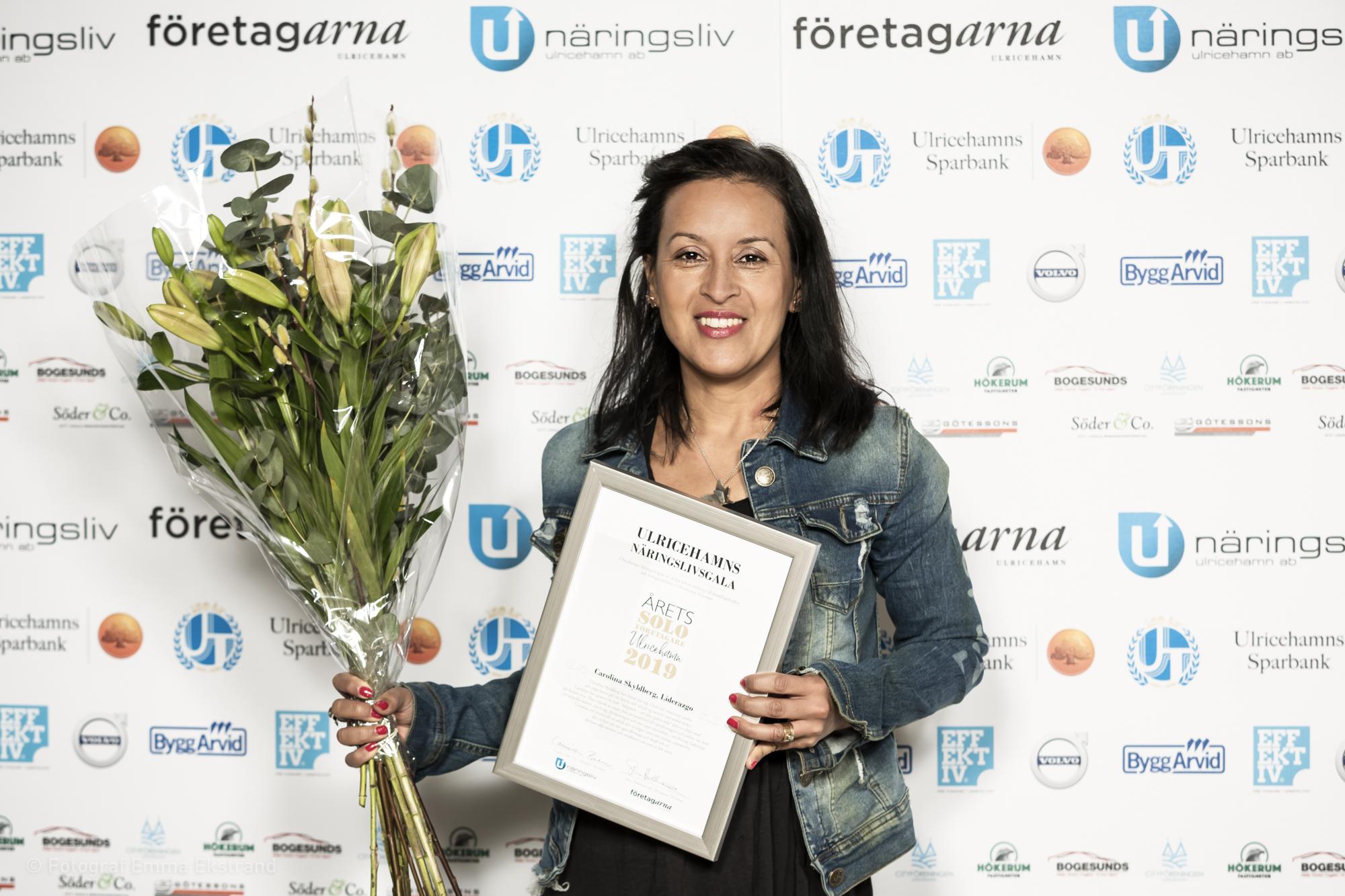 Årets Soloföretagare 2019 - Carolina Skyldberg, Liderazgo