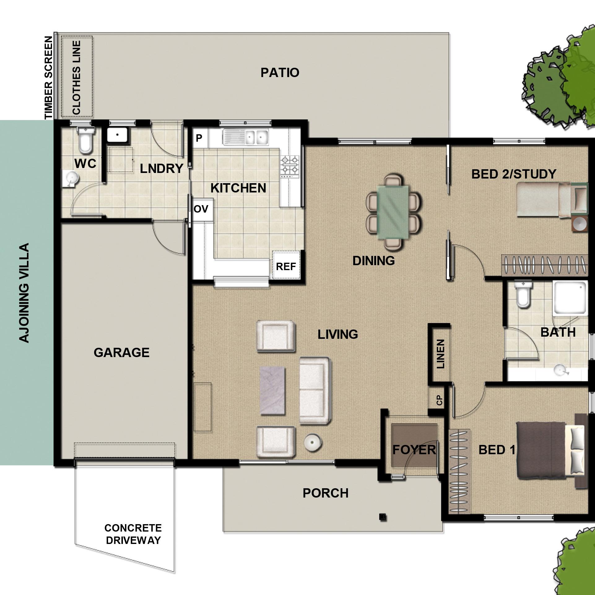 Khancoban - 2 Bedroom Villa
