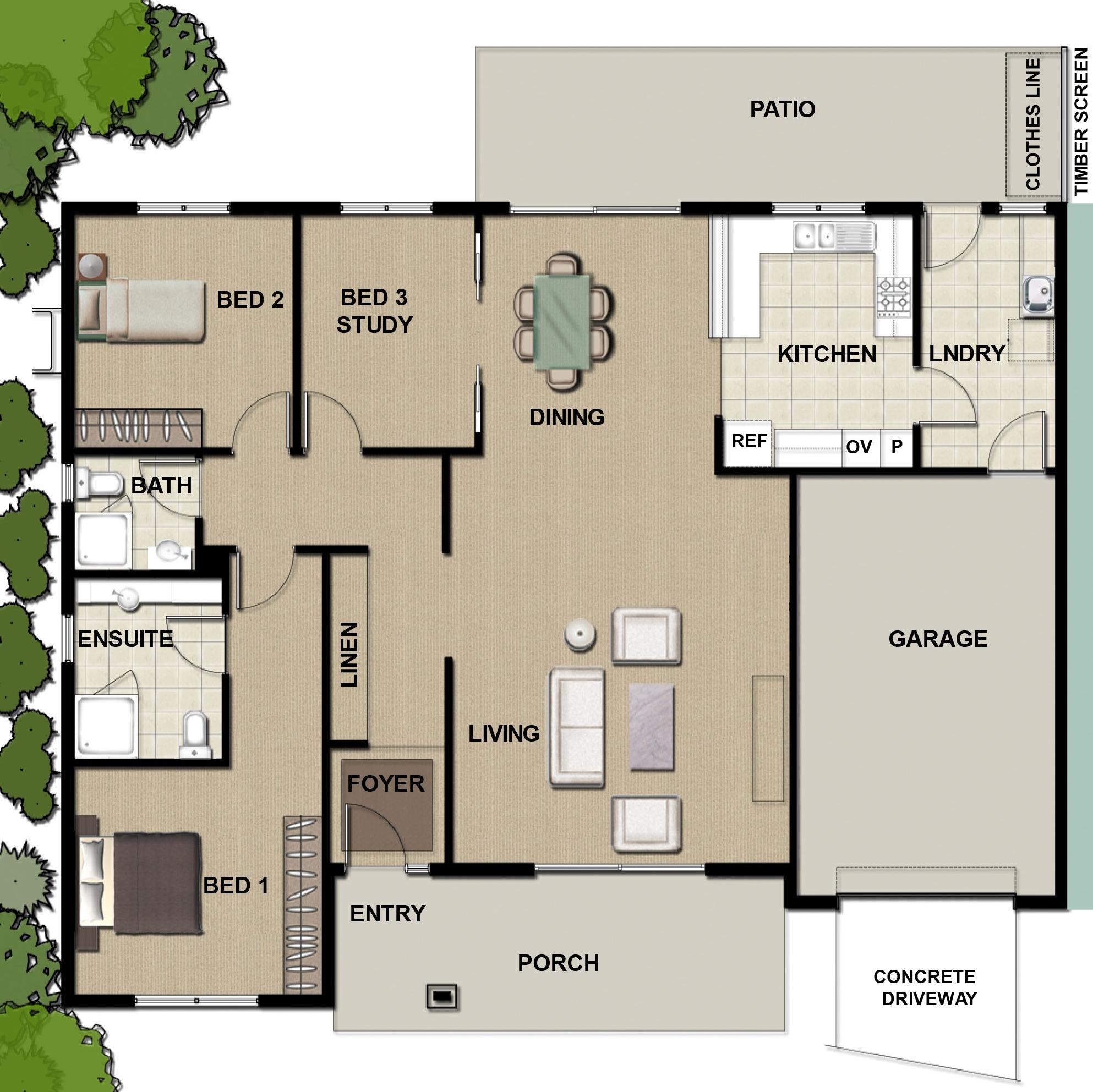 Blowering - 3 Bedroom Villa