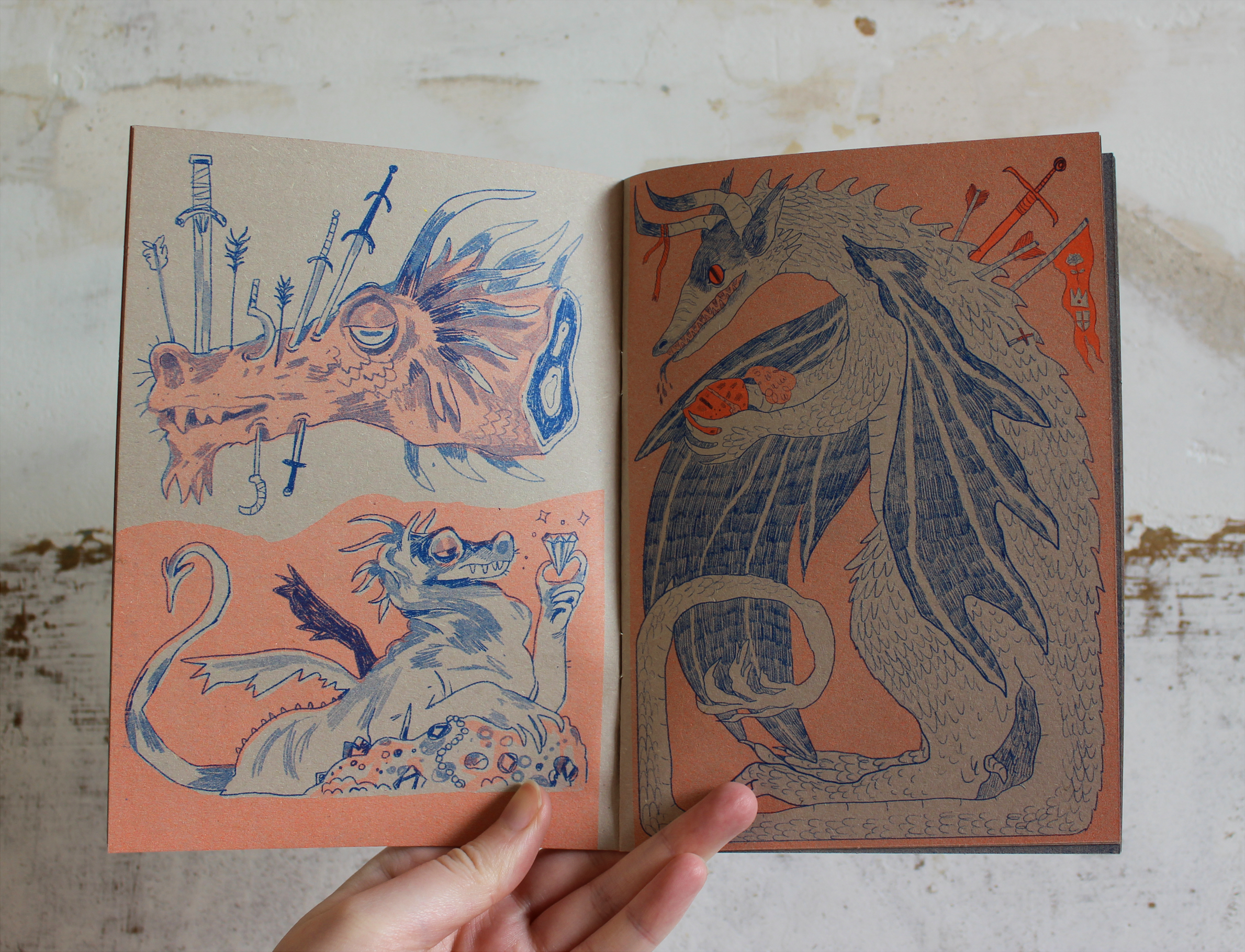 'Wyrm: Book of Dragons' by Eli Spencer & Sophie Robin