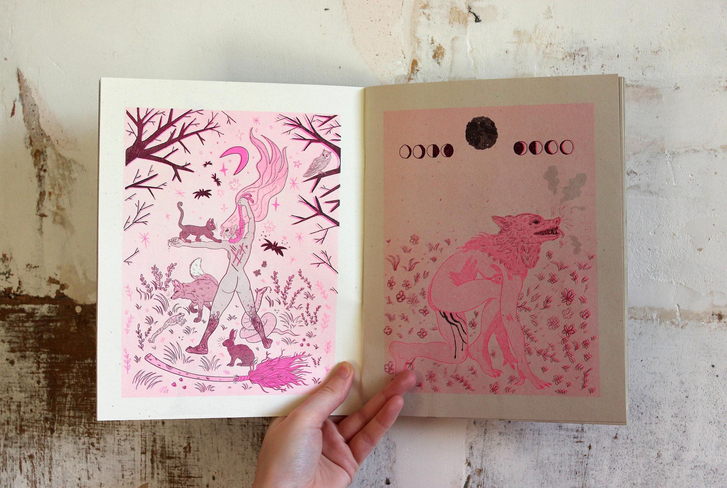 'Banshee' zine by Eli Spencer & Sophie Robin