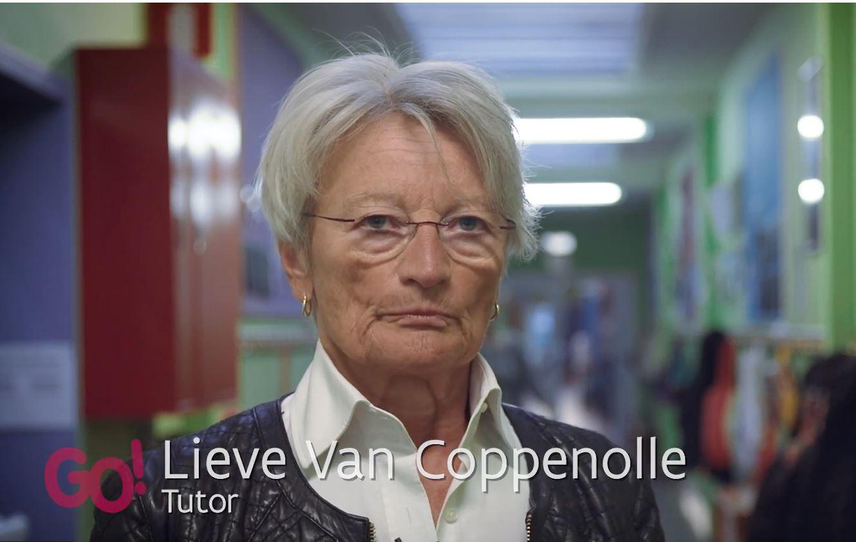 Lieve Van Coppenolle, tutor in de basisschool De Puzzel, Mechelen