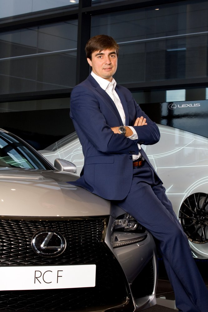 Leo Carluccio, Director General de Lexus