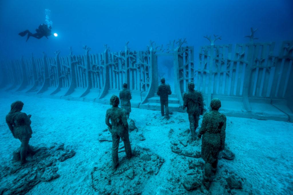 Museo de Arte Submarino  en Grayton Beach, Florida