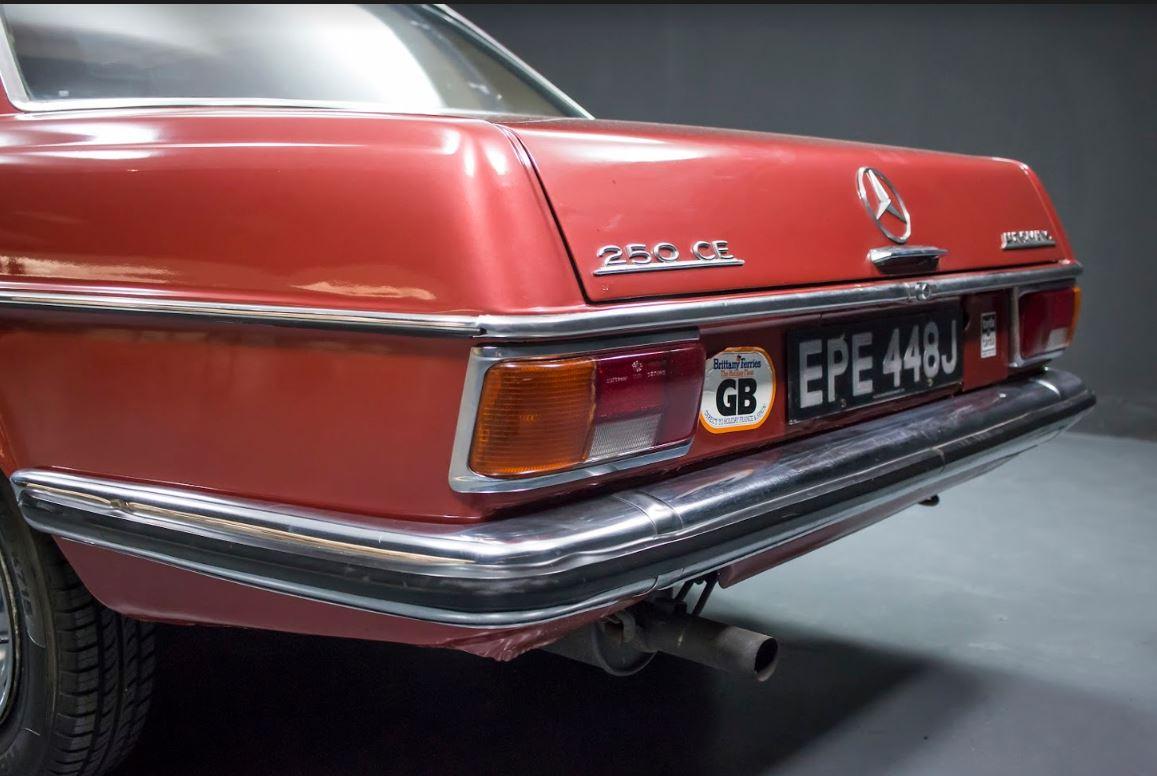 Encanto británico para un coche alemán