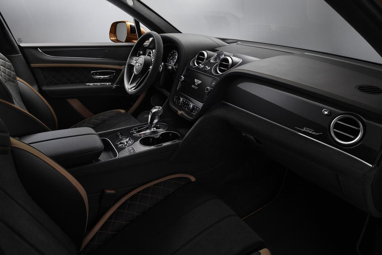 El interior, como no puede ser de otra manera, es de auténtico lujo