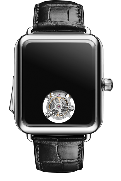 H. Moser & Cie Swiss Alp Watch Concept Black