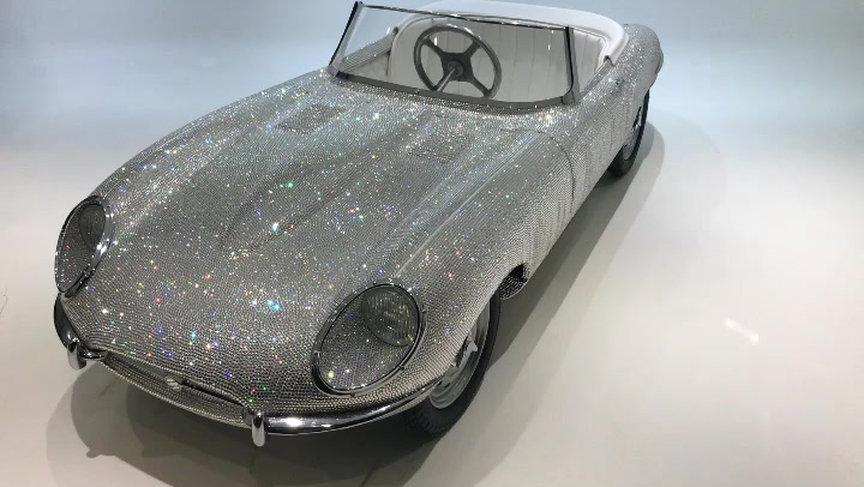 Jaguar Type E Swarovski