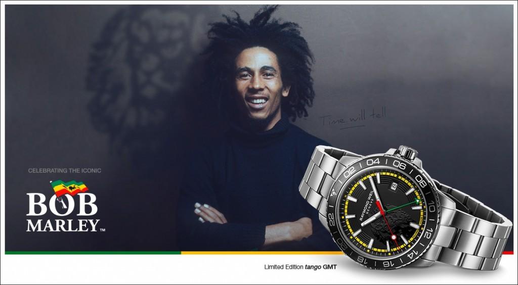 Raymond Weil Tango GMT Bob Marley Edición Limitada