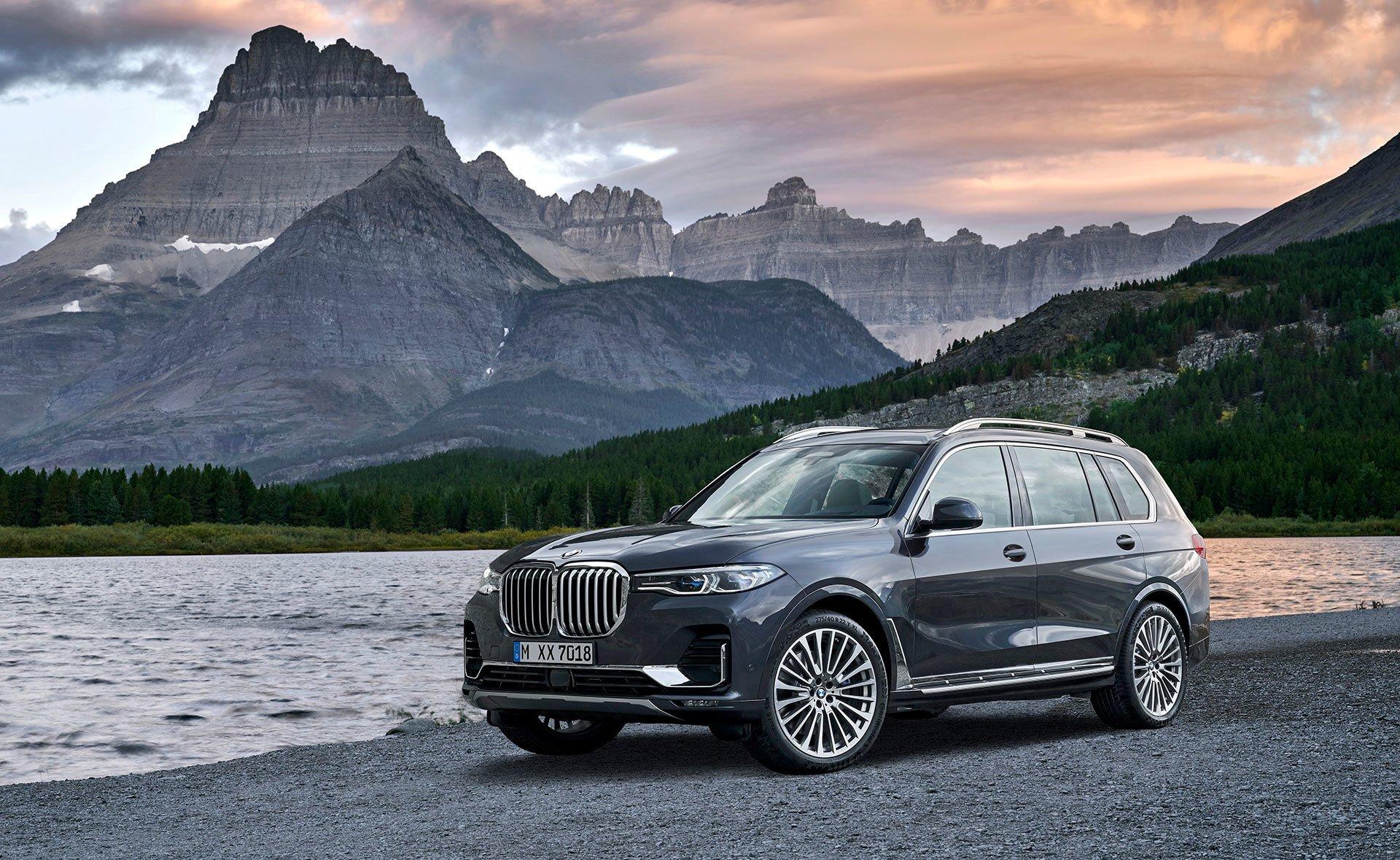 BMW X7 ,lo más grande de la marca bávara