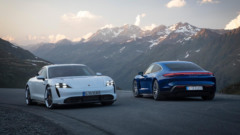Porsche Taycan Turbo y Turbo S