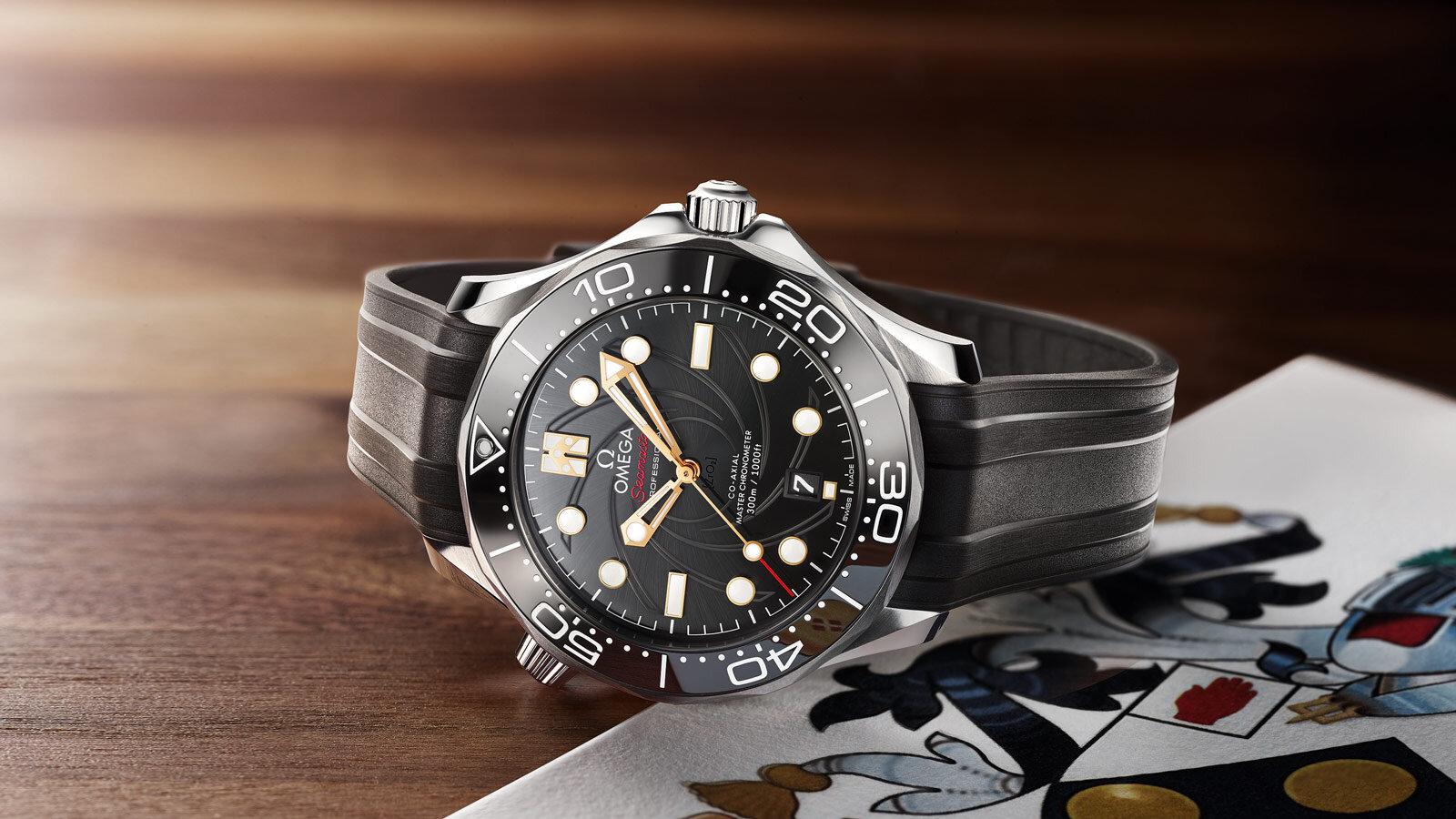 Omega Seamaster Diver 300M James Bond Edición Limitada