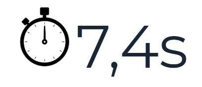 temps moyen passé par un recruteur pour l'examen d'un CV -