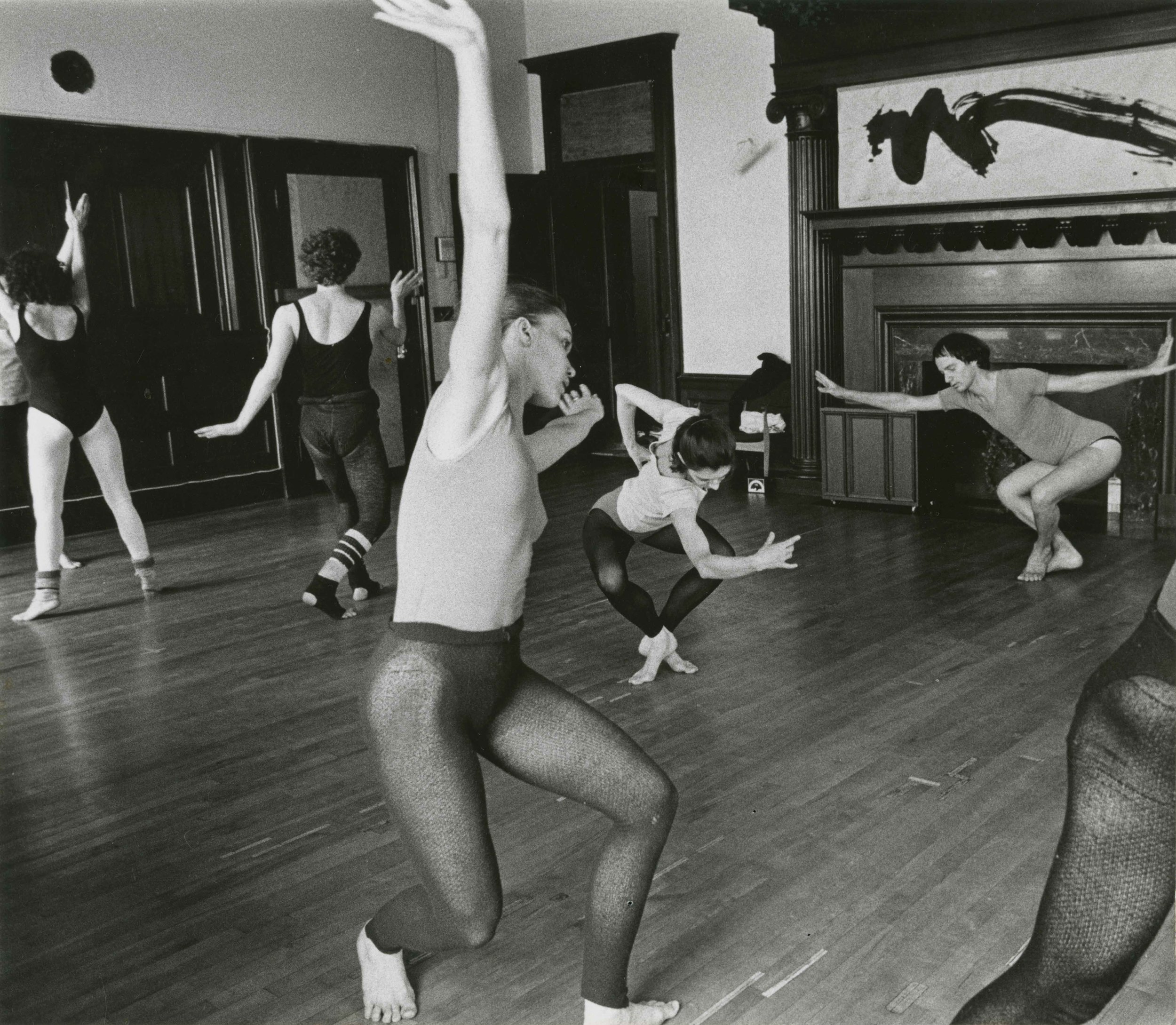 Nancy Meehan Company Rehearsing  Photo Credit:  Unknown