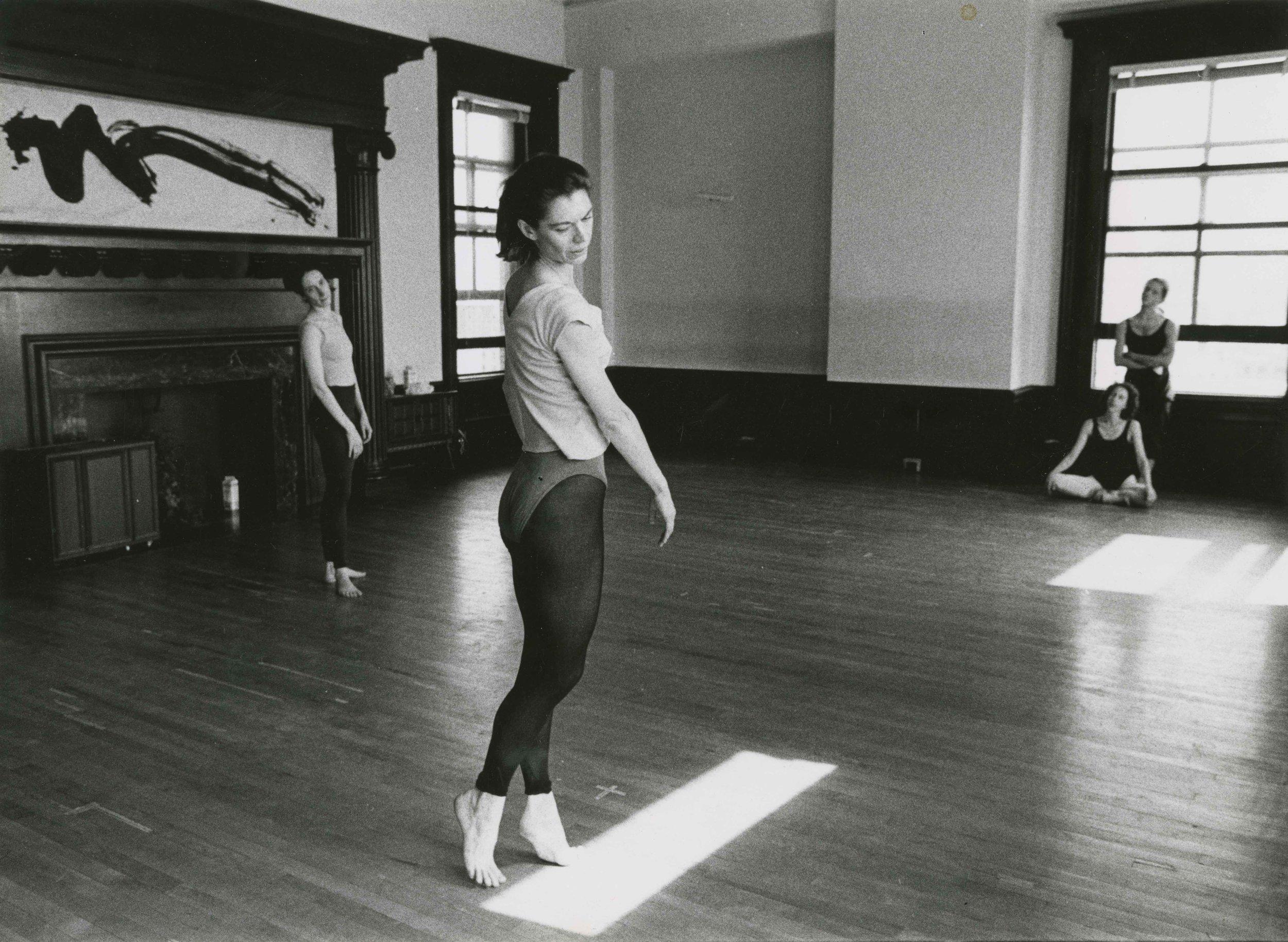 Nancy Meehan Rehearsing  Photo Credit:  Unknown