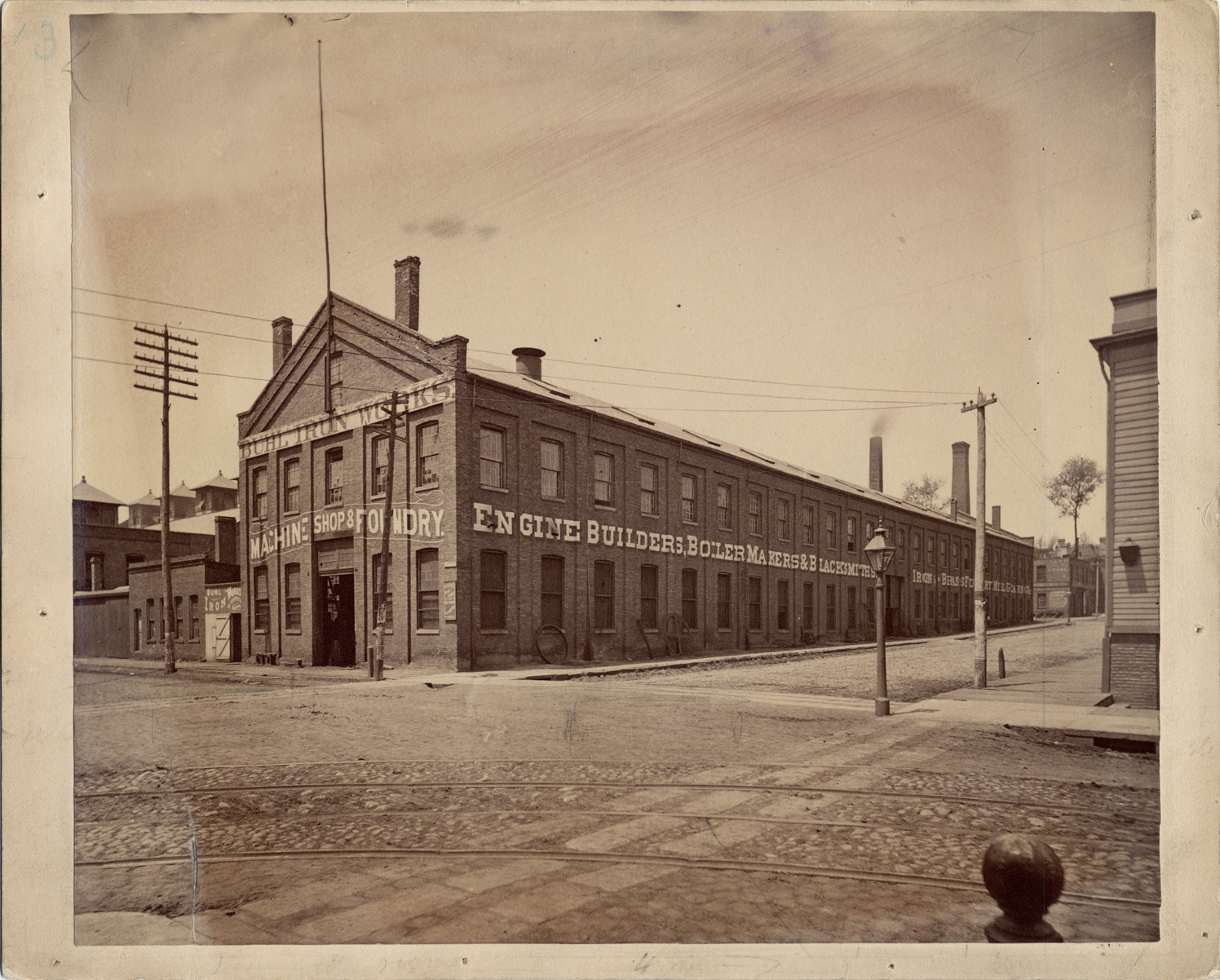 1850 - Buhl Iron Works started