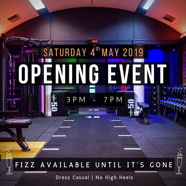 Who's coming to our opening event?! 😁 Saturday 4th May 3-7pm  Fizz Available whilst it lasts!