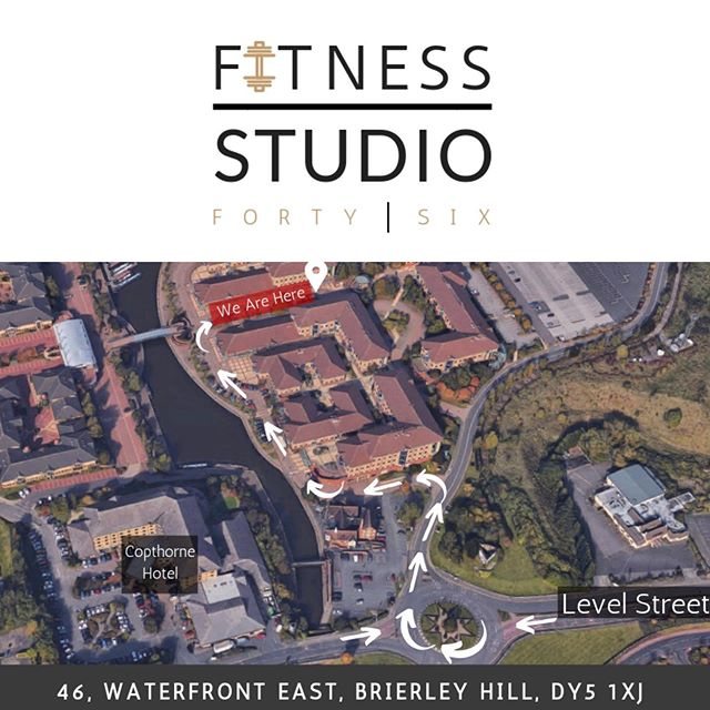 🤔 Where are we? We're tucked away in the beautiful Waterfront, Brierley Hill! Check the map - - 🍺 Next door to the Garrison! On the Waterfront East Business Park. - - 💪 This private location provides an exclusive training environment, nobody staring at you through massive windows whilst you train. It also offers free parking right outside our doorstep! - - 👋🏼 Come & say Hello. We'd love to meet you 😁