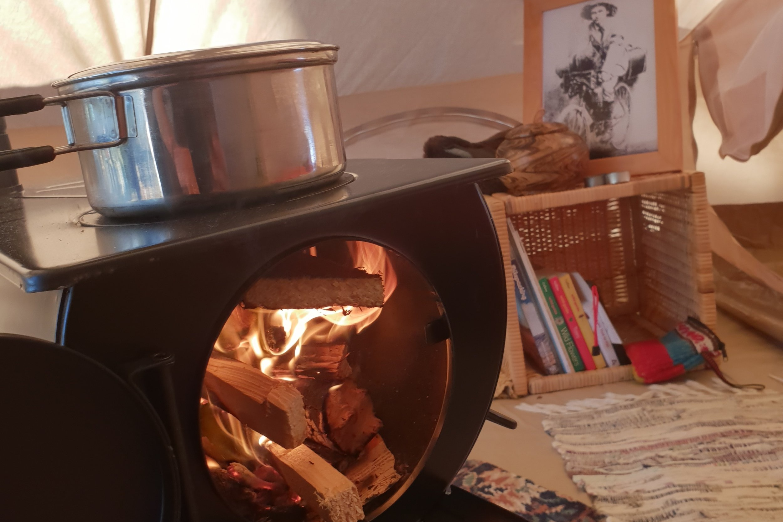 Wood burning Frontier Stove
