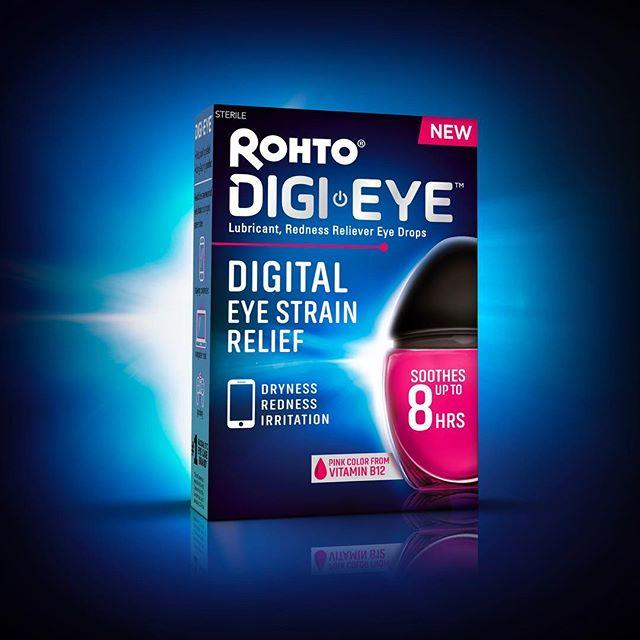 Rest your tired 👀s on our latest work for @rohtoeyedrops. 👁💧 Design #byzunda . . . #zundagroup #personalcare #eyecare #healthandbeauty #design #packagedesign #branding #brandidentity #graphicdesign #creative #packagingdesign #bluelight  #digital #eyestrain #connecticut #sono #marketing #agency