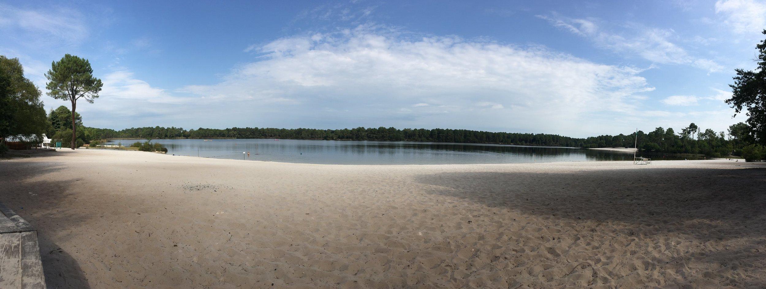 Hostens lake