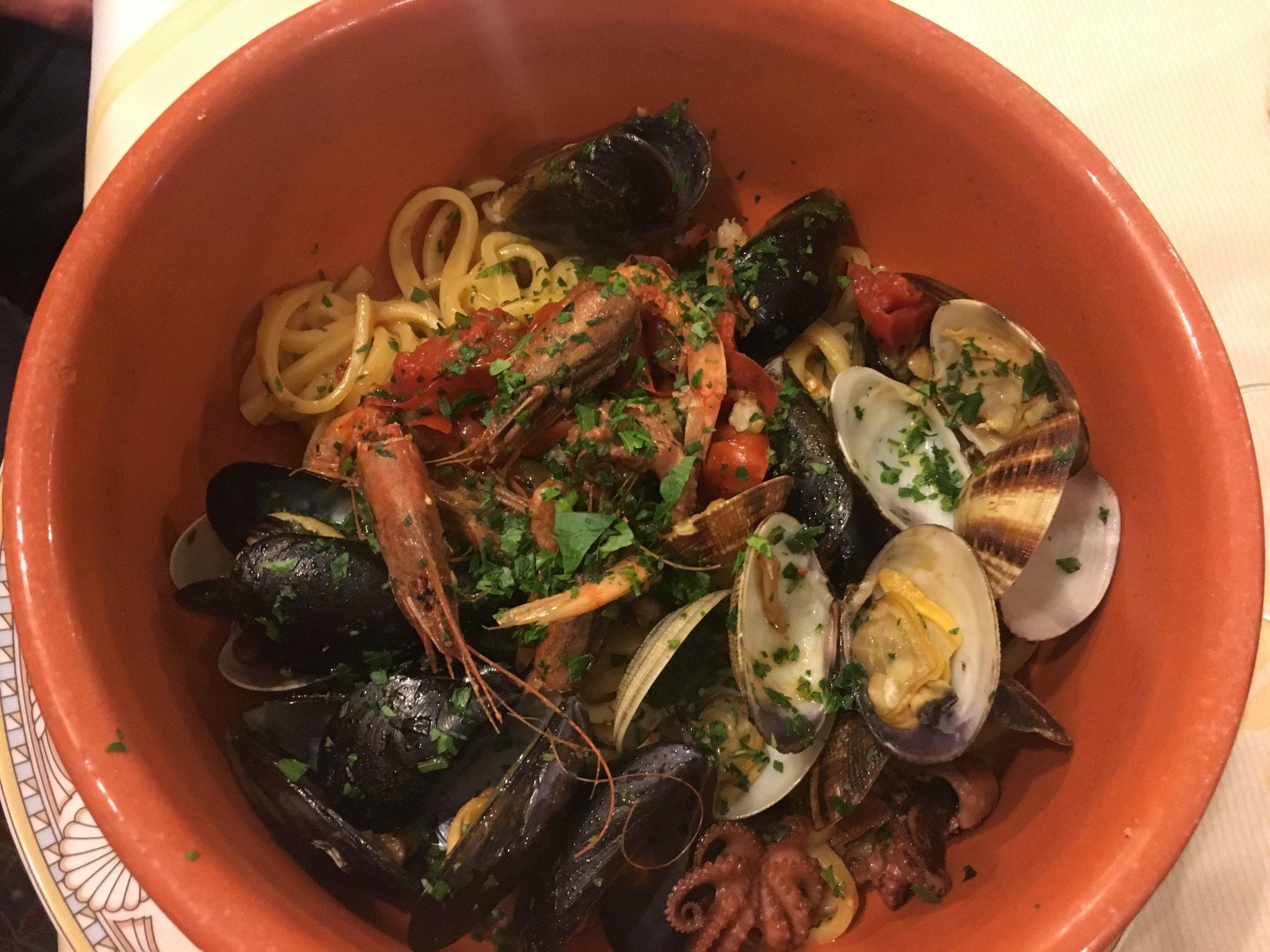 Capri food
