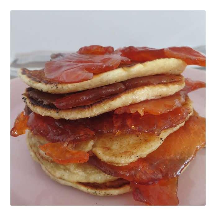 Pancakes and Salmon