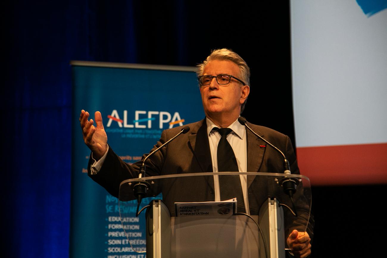 philippe calmette, président de nexem - photoreportage assemblée générale de l'ALEPA.jpg