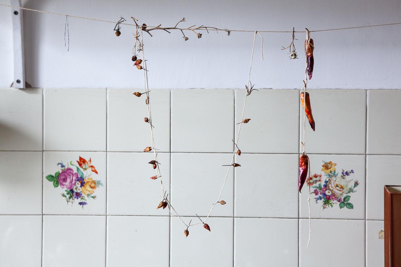collier suspendu de piments dans la cuisine - photo couleur fineart projet photo choses à soi de rêvelise rohart - série ciel sonore.jpg